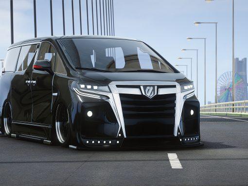 Toyota Alphard 2018 HR VIP Bodykit