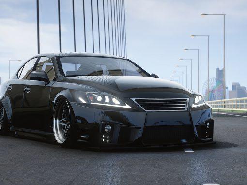 Lexus ISF Aimgain x HR Bodykit